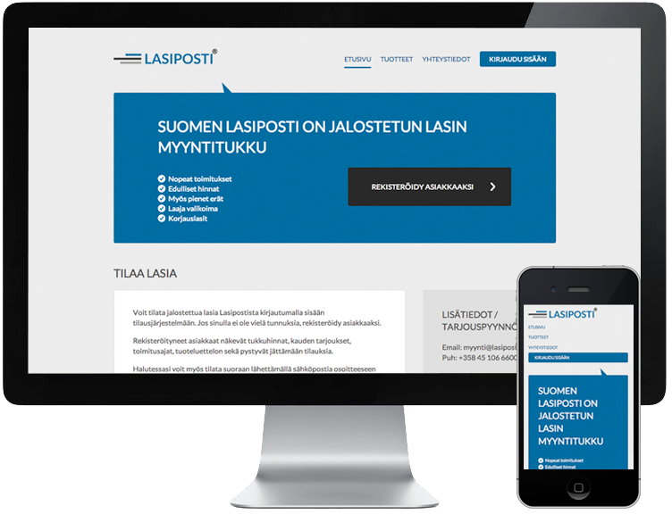 Lasiposti - WordPress referenssi